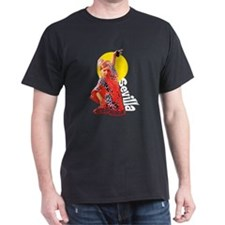 Flamenco Black T-Shirt