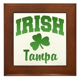 Tampa Irish Framed Tile
