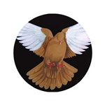 "Domestic Flight Pigeon 3.5"" Button (100 pack)"