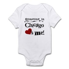 Chicago Loves Me Infant Bodysuit