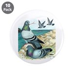 "Rock Doves 3.5"" Button (10 pack)"