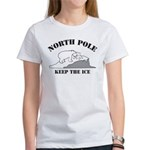 Earth Day : Save the North Pole Women's T-Shirt