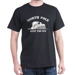 Earth Day : Save the North Pole Dark T-Shirt