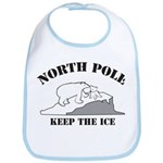 Earth Day : Save the North Pole Bib
