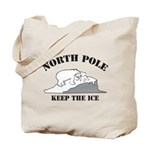 Earth Day : Save the North Pole Tote Bag