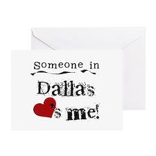 Dallas Loves Me Greeting Card