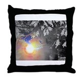 Cool Rainbow photography Throw Pillow