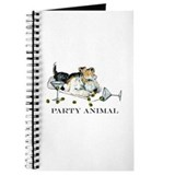 Fox Terrier Party Animal Journal