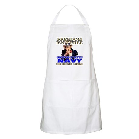U.S. NAVY Freedom Isn't Free BBQ Apron
