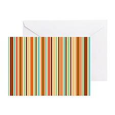 Sherbet Stripes Note Cards (Pk of 10)