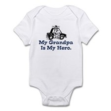 My Grandpa is my Hero (Police) Infant Bodysuit