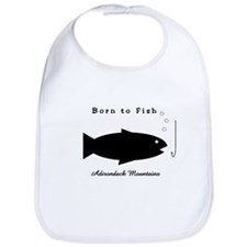 Born to Fish Adirondack Bib