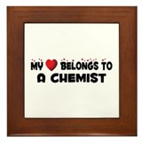 Belongs To A Chemist Framed Tile