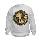 Celtic Unicorn Kids Sweatshirt