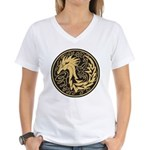 Celtic Unicorn Women's V-Neck T-Shirt