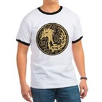Celtic Unicorn Ringer T