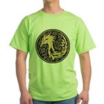 Celtic Unicorn Green T-Shirt