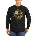 Celtic Unicorn Long Sleeve Dark T-Shirt