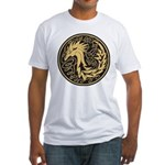 Celtic Unicorn Fitted T-Shirt