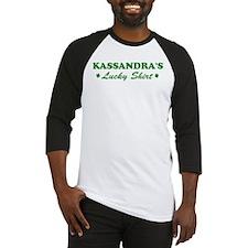 KASSANDRA - lucky shirt Baseball Jersey