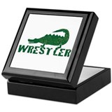 Alligator Wrestler Keepsake Box