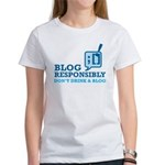 Blog Responsibly Women's T-Shirt