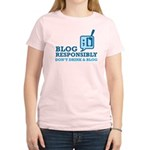 Blog Responsibly Women's Light T-Shirt