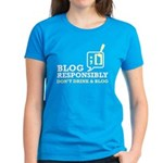 Blog Responsibly Women's Dark T-Shirt