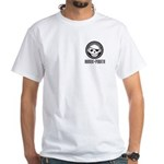 Music Pirate White T-Shirt