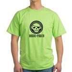 Music Pirate Green T-Shirt