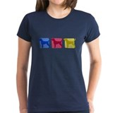 Color Row Plott Hound Tee