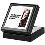 "Wilde ""Dull People"" Keepsake Box"