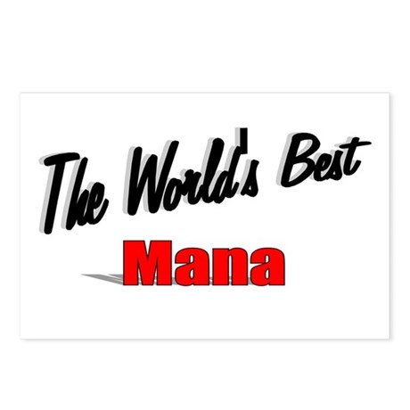 """The World's Best Mana"" Postcards (Package of 8)"