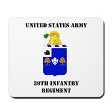 39th Infantry Regiment Mousepad