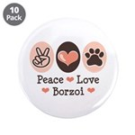 Peace Love Borzoi 3.5