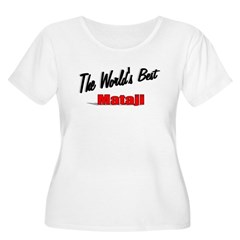 """The World's Best Mataji"" Women's Plus Size Scoop"