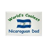 Coolest Nicaraguan Dad Rectangle Magnet