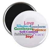 Fruit of the Spirit 2.25&quot; Magnet (10 pack)