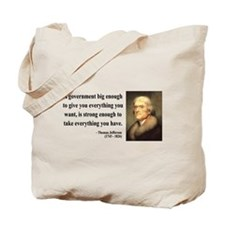 Thomas Jefferson 1 Tote Bag