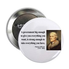 "Thomas Jefferson 1 2.25"" Button (10 pack)"