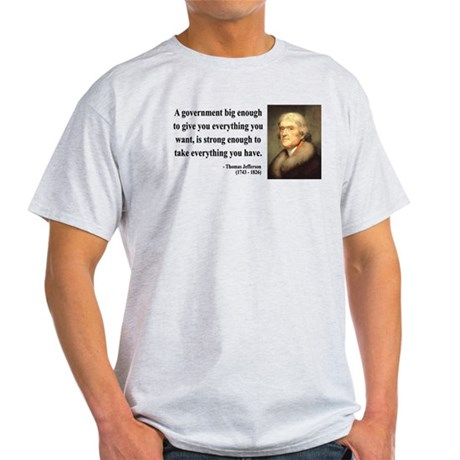 Thomas Jefferson 1 Light T-Shirt