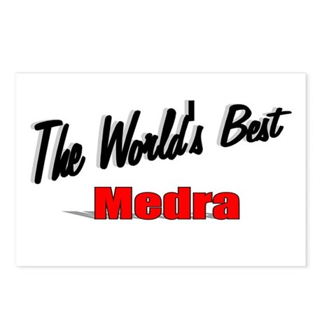 """ The World's Best Medra"" Postcards (Package of 8)"