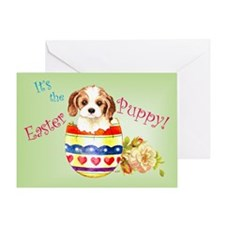 Easter Cavalier Greeting Card