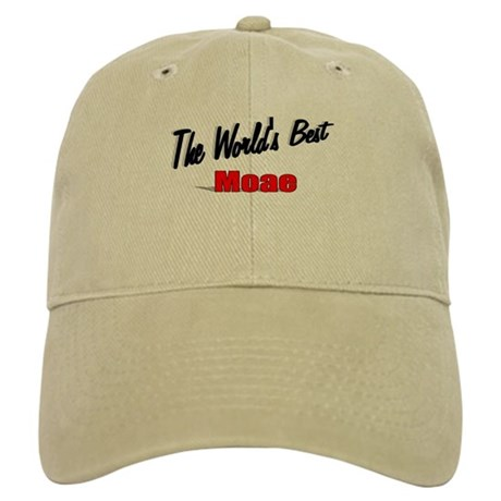 """The World's Best Moae"" Cap"