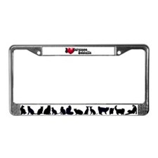 'I Love JapBobs' License Plate Frame