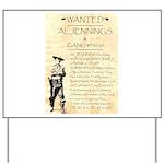 Al Jennings Gang Yard Sign