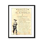 Al Jennings Gang Framed Panel Print