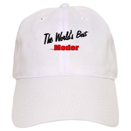 """The World's Best Moder"" Cap"