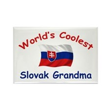 Coolest Slovak Grandma Rectangle Magnet