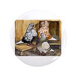 "Domestic Flight Pigeons 3.5"" Button"